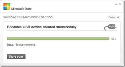 Флешка для установки Windows 8, готова