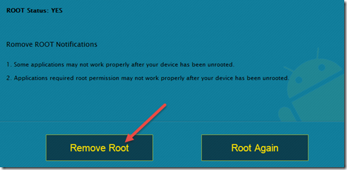 Remove Root