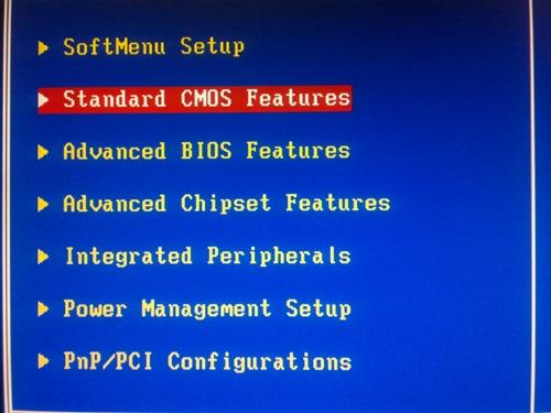 Standart CMOS Features