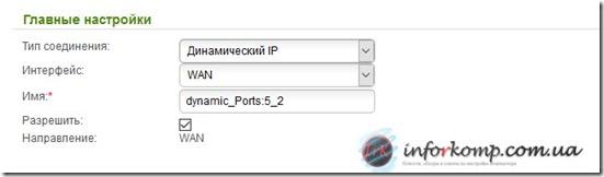 Динамический IP