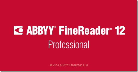 Abbyy FineReader 12