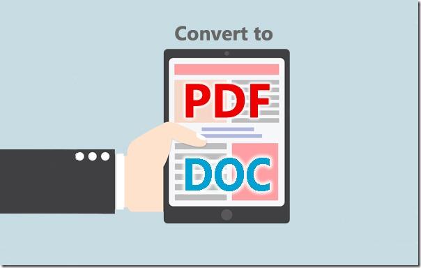 как преобразовать Pdf в Doc - фото 2