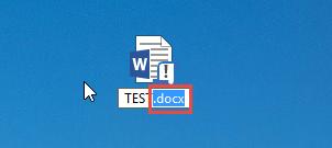 Изминение расширения файла