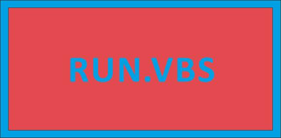 Не удается найти файл сценария C:\Windows\run.vbs